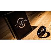 Магнитное кольцо чёрное Beveled   Jim Trainer