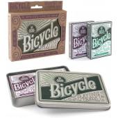 Подарочный набор Bicycle Retro Tin
