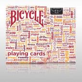 Карты Bicycle Table Talk | Красный